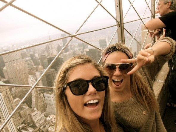 Coco Ho and Quincy Davis Hit New York City »